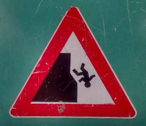 falling-off-cliff