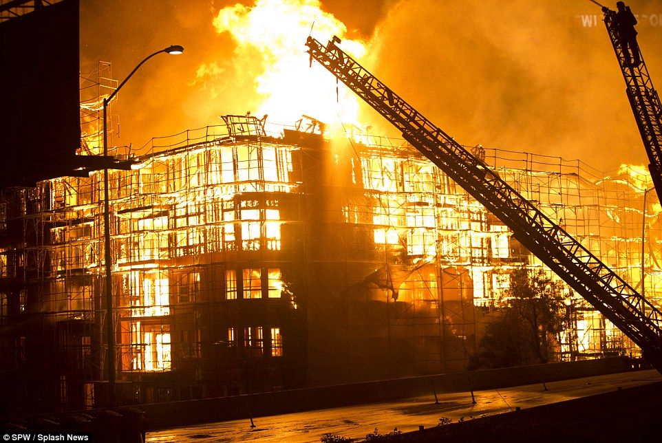 Could rapid build housing mean rapid fire spread for Used lumber los angeles
